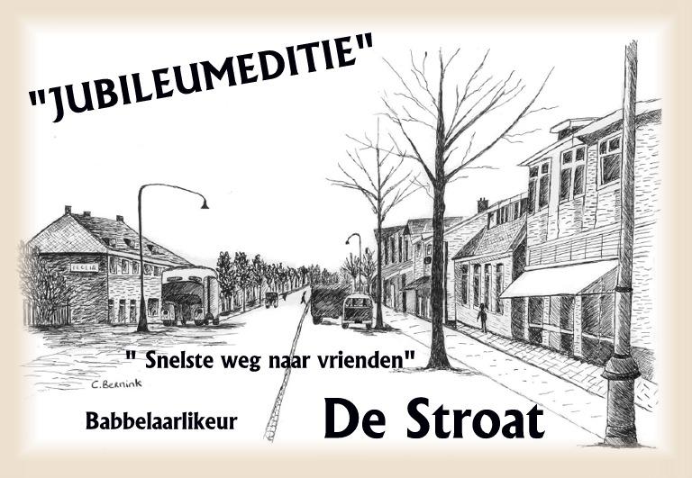 De Stroat jubileum 50cl bgl zw nr 2